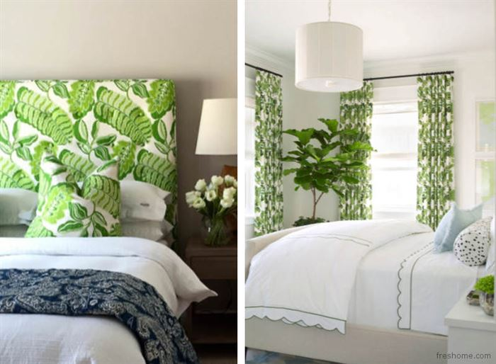 yeşil bahar havası yaratan duvar kağıt modelleri
