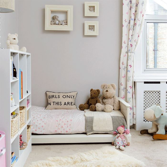 çocuk odası duvarlarını odak noktası oluşturma