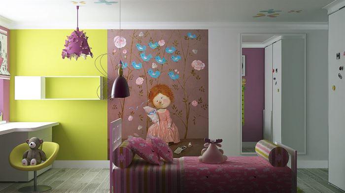 iki renkli oda boyamaları