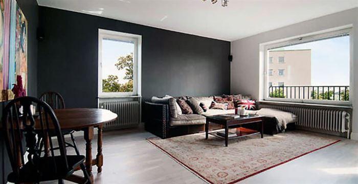 İki Ve Üç Renk Kombinasyonu İle Oda Dekorasyonları 5