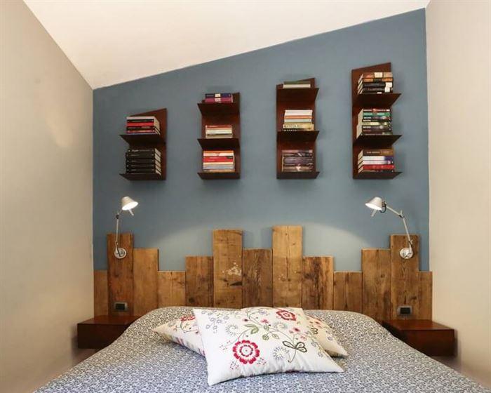 İki Ve Üç Renk Kombinasyonu İle Oda Dekorasyonları 8