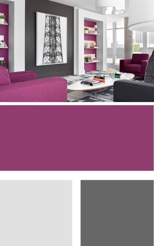 İki Ve Üç Renk Kombinasyonu İle Oda Dekorasyonları 1