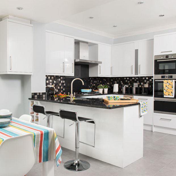 modern mutfak dekorasyon