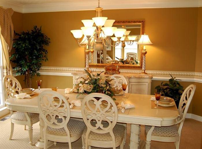 Yemek Odası Dekorasyonları İçin İlham Verici Fikirler 11