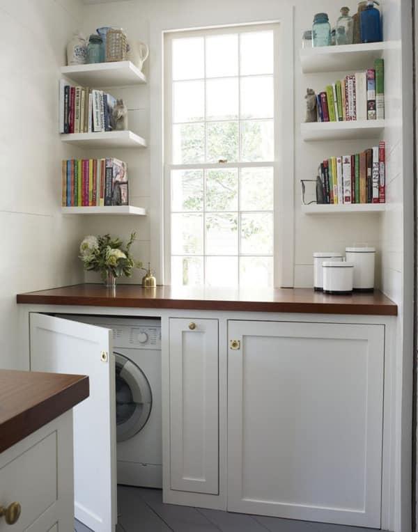 çamaşır makinesi gizleme dolap
