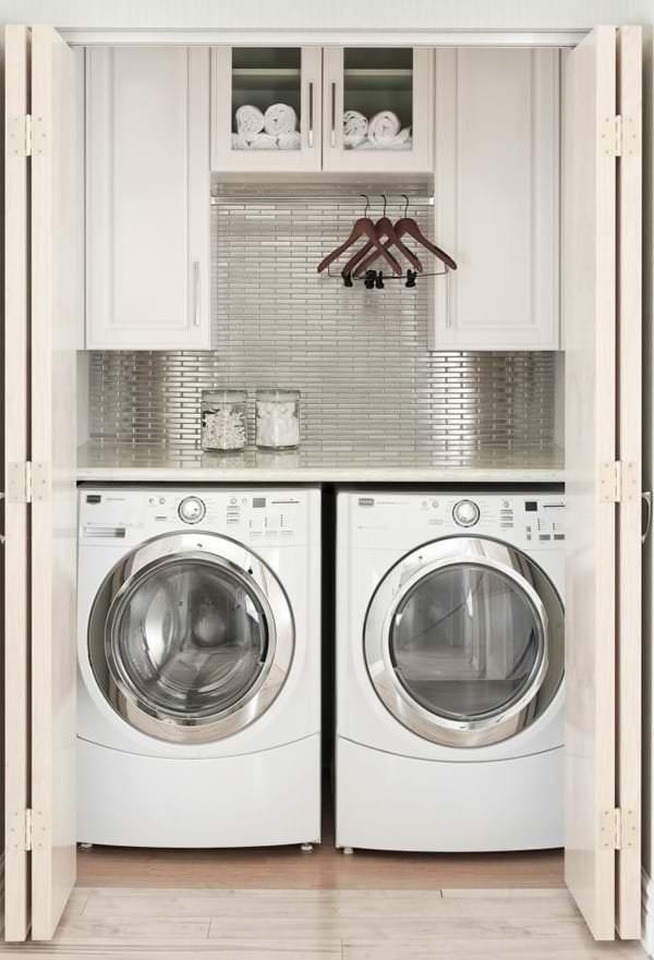 çamaşır makinesi dolap modelleri