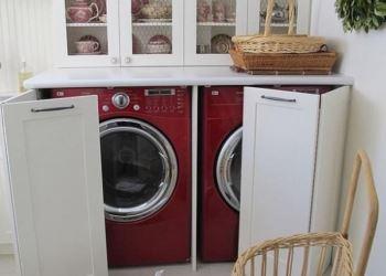 Çamaşır Makinesi Dolapları