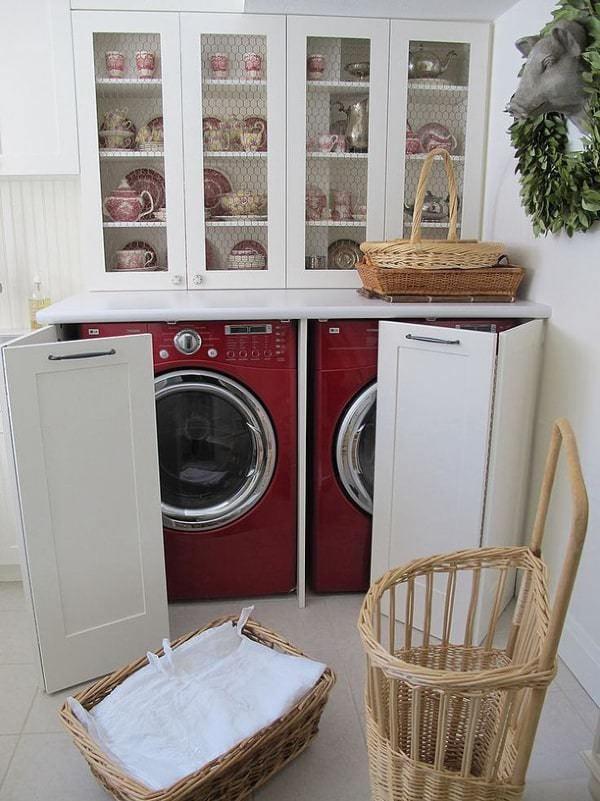 çamaşır makinesi dolap örnekleri