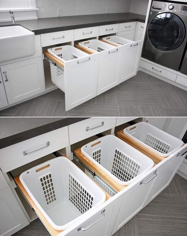 banyo çamaşır makinesi dolapları