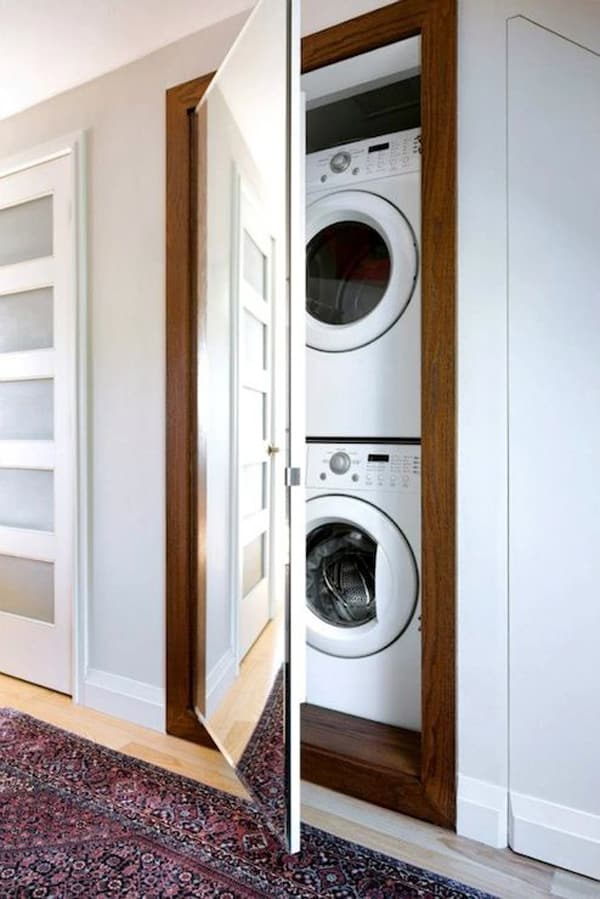 çamaşır makine dolapları