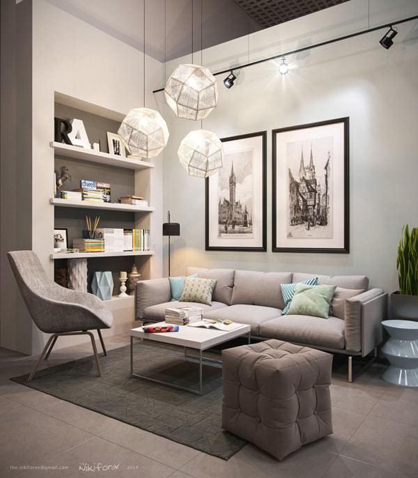 Misafir Odası Mobilya Ve Dekorasyon Fikirleri 11