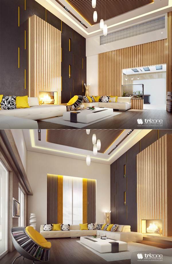 Misafir Odası Mobilya Ve Dekorasyon Fikirleri 4