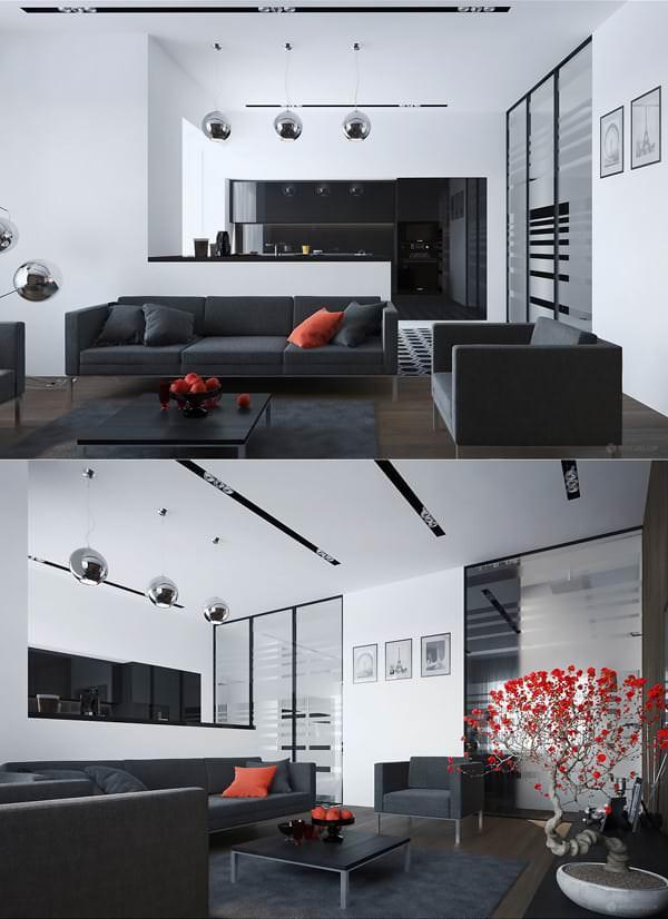Misafir Odası Mobilya Ve Dekorasyon Fikirleri 6
