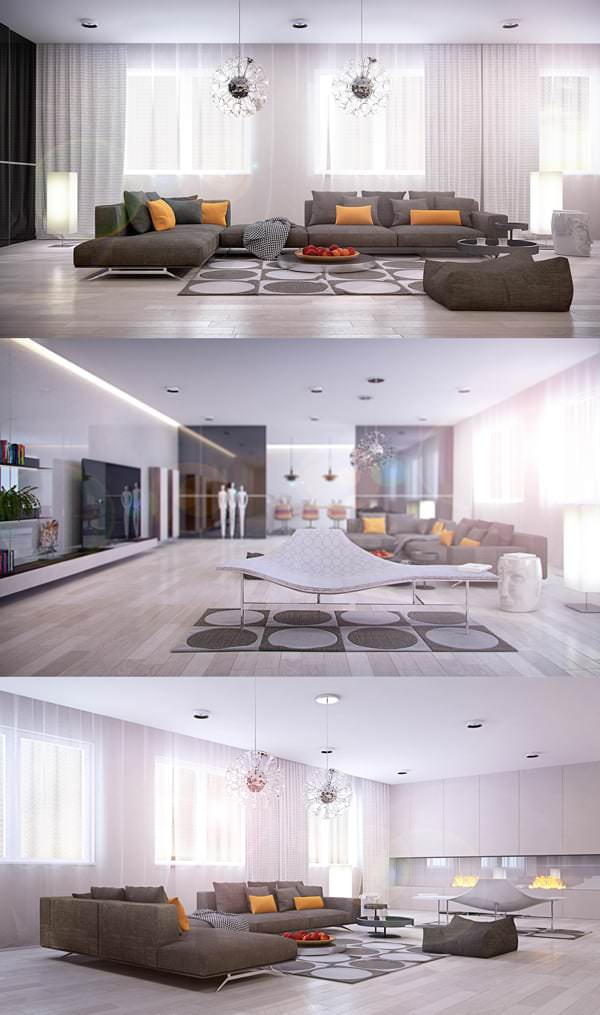 Misafir Odası Mobilya Ve Dekorasyon Fikirleri 8
