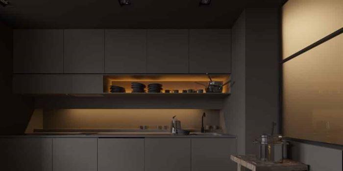 Müthiş Modern Mutfak Aydınlatma Örnekleri 19