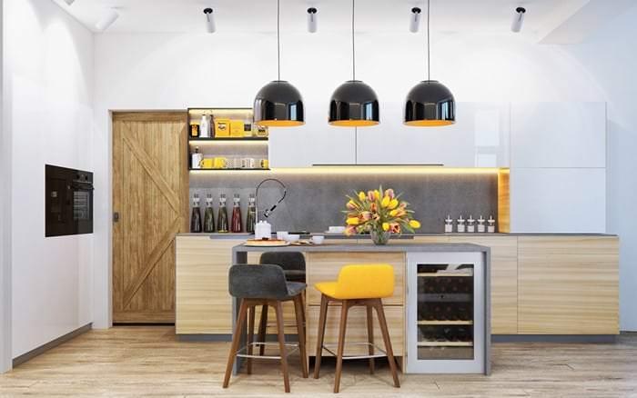 mutfak sarkıt aydınlatma modelleri