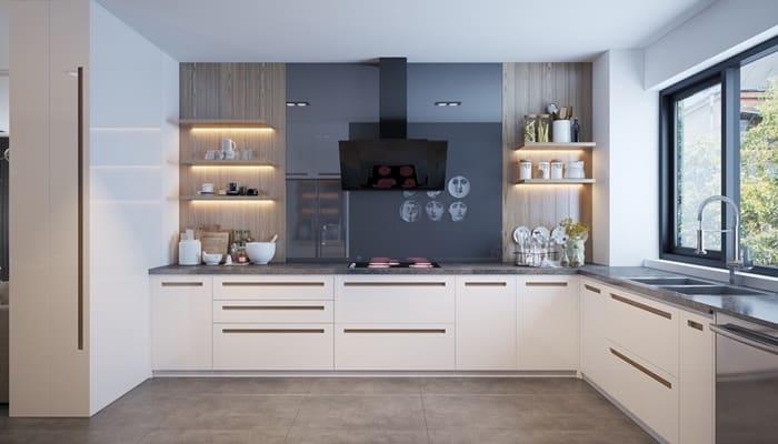 mutfak raf ışık sistemi