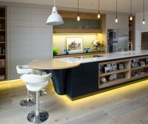 Müthiş Modern Mutfak Aydınlatma Örnekleri