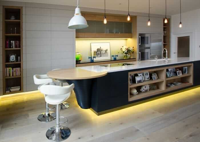 Müthiş Modern Mutfak Aydınlatma Örnekleri 16