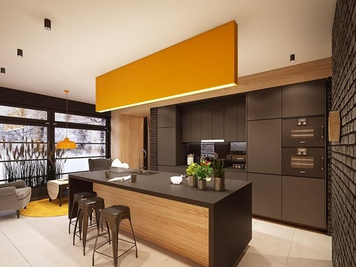 Müthiş Modern Mutfak Aydınlatma Örnekleri 17