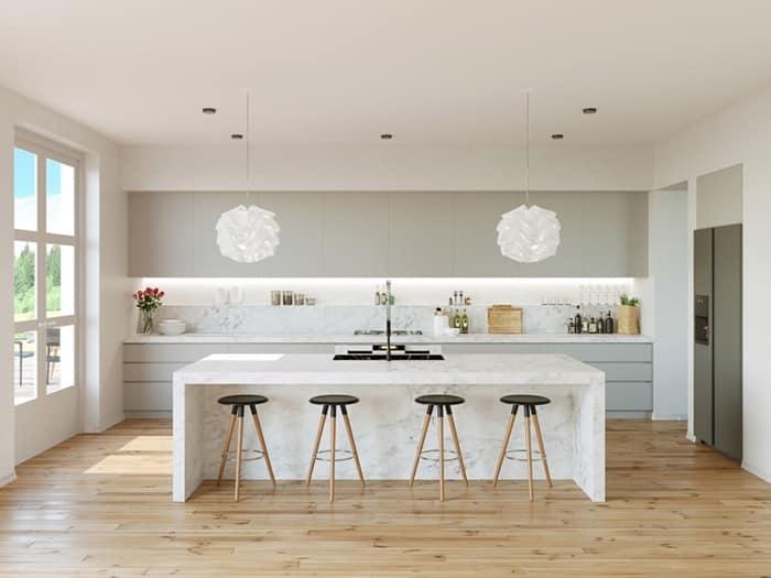 Müthiş Modern Mutfak Aydınlatma Örnekleri 4