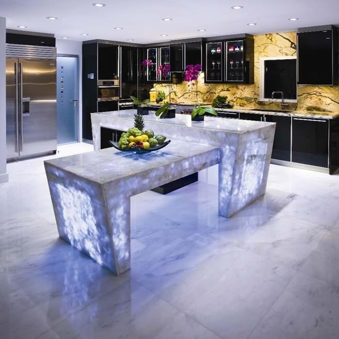 Müthiş Modern Mutfak Aydınlatma Örnekleri 5