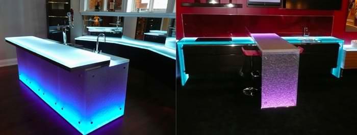mutfak led ışık sistemi