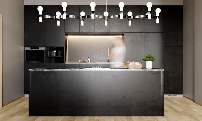 modern mutfak aydınlatma sistemleri
