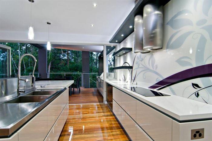 mutfak dekorasyonunda yeni trend cam kullanımı - mutfak dekorasyonunda cam kullanimi 4 1024x679