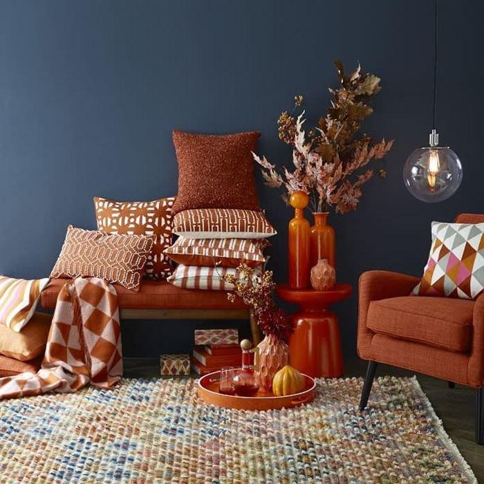 Sonbahar ve Kış İçin Dekorasyon Renk Trendleri 3