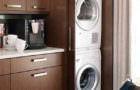 Çamaşır Makinesi Dolap İçine Gizleme Fikirleri