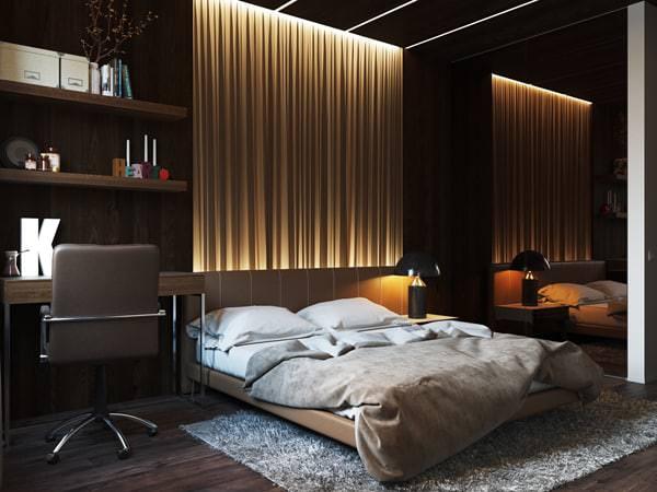 Yatak Odası Aydınlatma Fikirleri 2