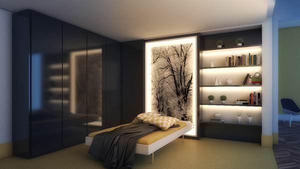 Yatak Odası Aydınlatma Fikirleri 6