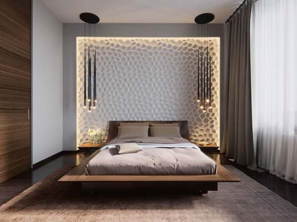 Yatak Odası Aydınlatma Fikirleri 20