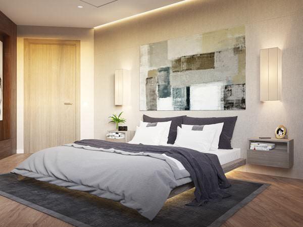 Yatak Odası Aydınlatma Fikirleri 1