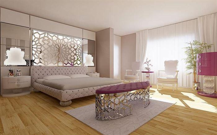 modern dekoratif yatak odası