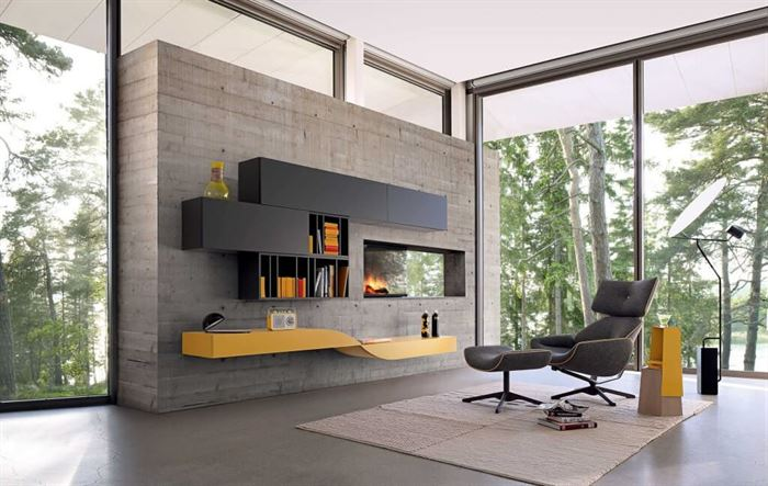 beyaz renk tv ünite modelleri duvar Ünitesi modeli arayanlar İçin modern tasarımlar - dekoratif unite - Duvar Ünitesi Modeli Arayanlar İçin Modern Tasarımlar