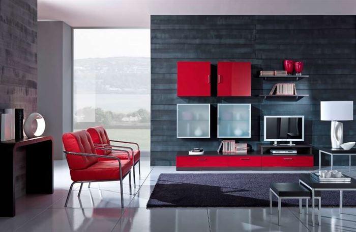 dolaplı tv ünite modelleri duvar Ünitesi modeli arayanlar İçin modern tasarımlar - kirmizi duvar raf unite - Duvar Ünitesi Modeli Arayanlar İçin Modern Tasarımlar