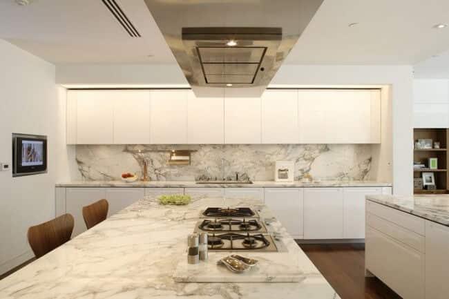 Modern Mutfaklarda Mermer Kullanma Şıklığı 16