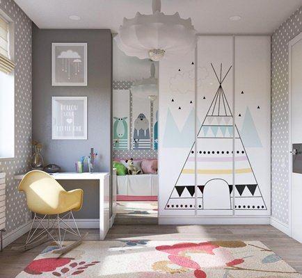Pembe Dekorasyonlu Çocuk Odaları