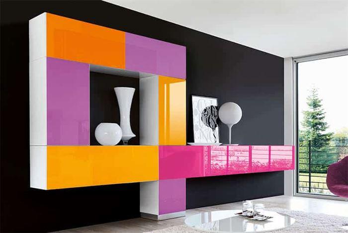 tv ünitesi koçtaş duvar Ünitesi modeli arayanlar İçin modern tasarımlar - renkli duvar unitesi - Duvar Ünitesi Modeli Arayanlar İçin Modern Tasarımlar