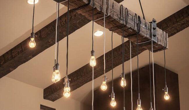 eviniz İçin benzersiz dekoratif aydınlatma sistemleri - rustik ilginc sarkit lamba modeli 650x380 - Eviniz İçin Benzersiz Dekoratif Aydınlatma Sistemleri