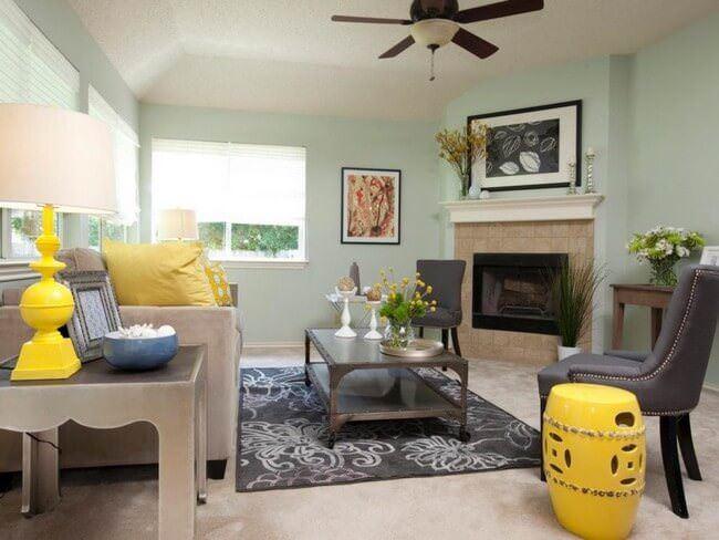 Ev Dekorasyonunda Renk Seçme Fikirleri 1
