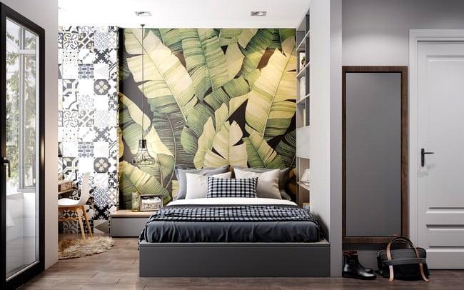 yatak odası yatak arkası duvar dekorasyon fikirleri - yatak odasi duvar dekorasyonlari 1 - Yatak Odası Yatak Arkası Duvar Dekorasyon Fikirleri