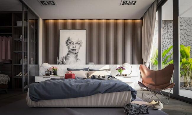 yatak odası yatak arkası duvar dekorasyon fikirleri - yatak odasi duvar dekorasyonlari 16 - Yatak Odası Yatak Arkası Duvar Dekorasyon Fikirleri