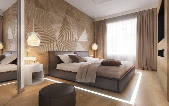 yatak odası yatak arkası duvar dekorasyon fikirleri - yatak odasi duvar dekorasyonlari 17 - Yatak Odası Yatak Arkası Duvar Dekorasyon Fikirleri