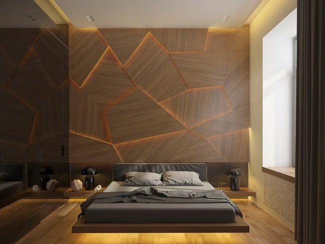 yatak odası yatak arkası duvar dekorasyon fikirleri - yatak odasi duvar dekorasyonlari 18 - Yatak Odası Yatak Arkası Duvar Dekorasyon Fikirleri