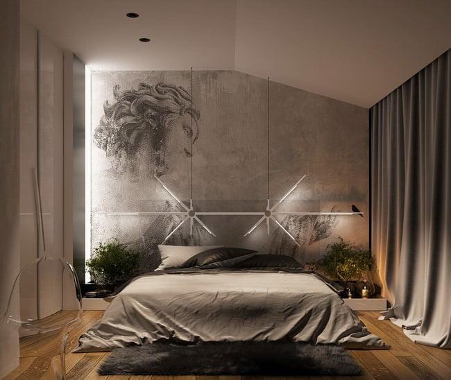 yatak odası yatak arkası duvar dekorasyon fikirleri - yatak odasi duvar dekorasyonlari 19 - Yatak Odası Yatak Arkası Duvar Dekorasyon Fikirleri