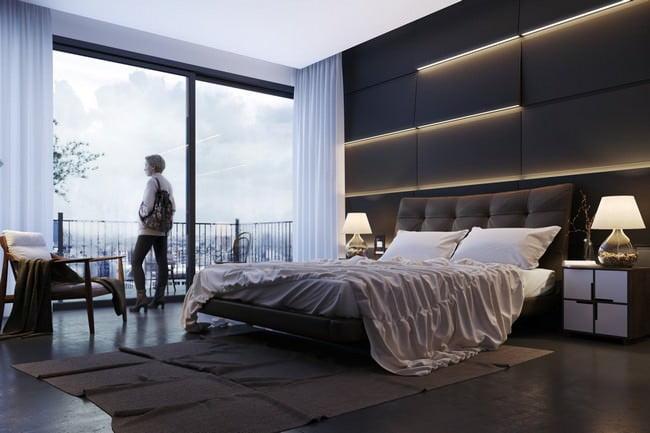yatak odası yatak arkası duvar dekorasyon fikirleri - yatak odasi duvar dekorasyonlari 2 - Yatak Odası Yatak Arkası Duvar Dekorasyon Fikirleri