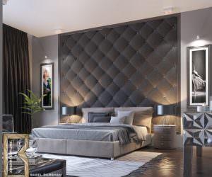 Yatak Odası Yatak Arkası Duvar Dekorasyon Fikirleri